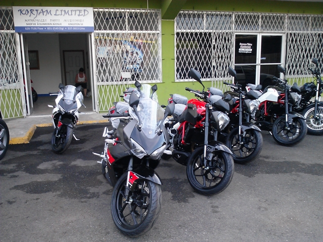 Hyosung Motorcycles Jamaica Korjam Limited